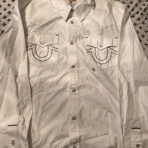 54b9c2d08 Men True Religion Collar Shirts on Poshmark